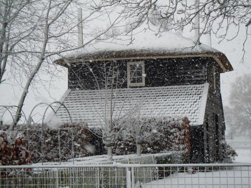 de hooiberg in de winter